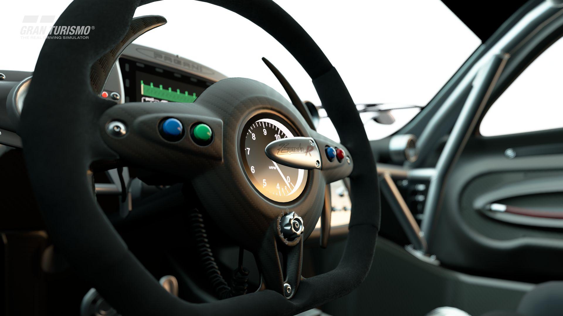 Gran Turismo Sport November Update Pagani Zonda R '09 (Gr.X) 4