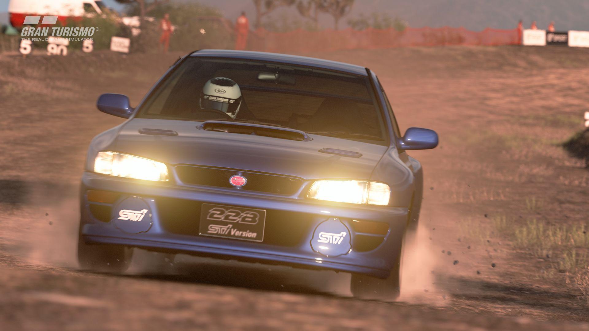 Gran Turismo Sport November Update Subaru Impreza 22B-STi Version '98 (N300) 2