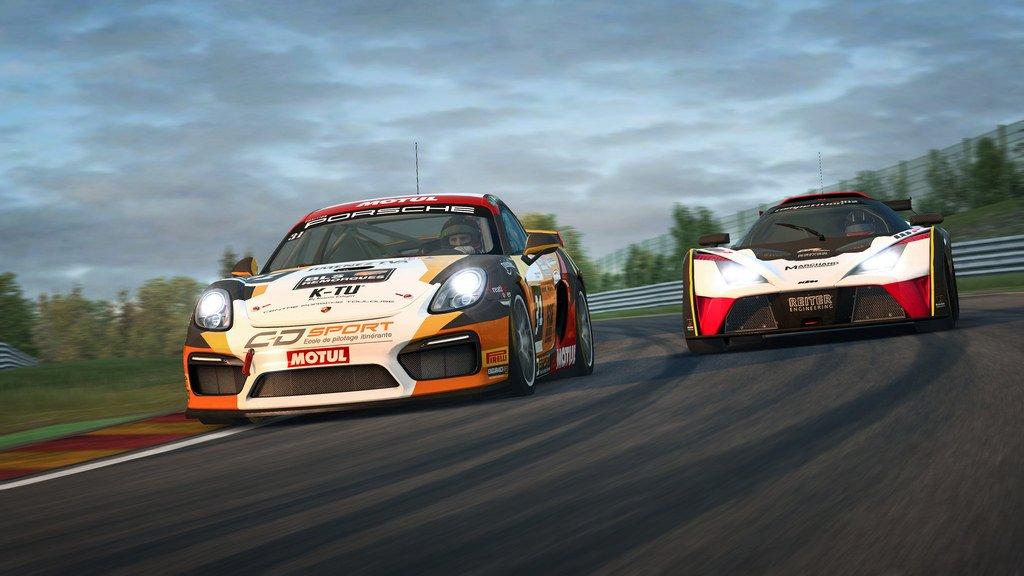 RaceRoom GT4 Patch 3