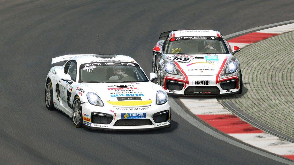 RaceRoom GT4 Patch 5