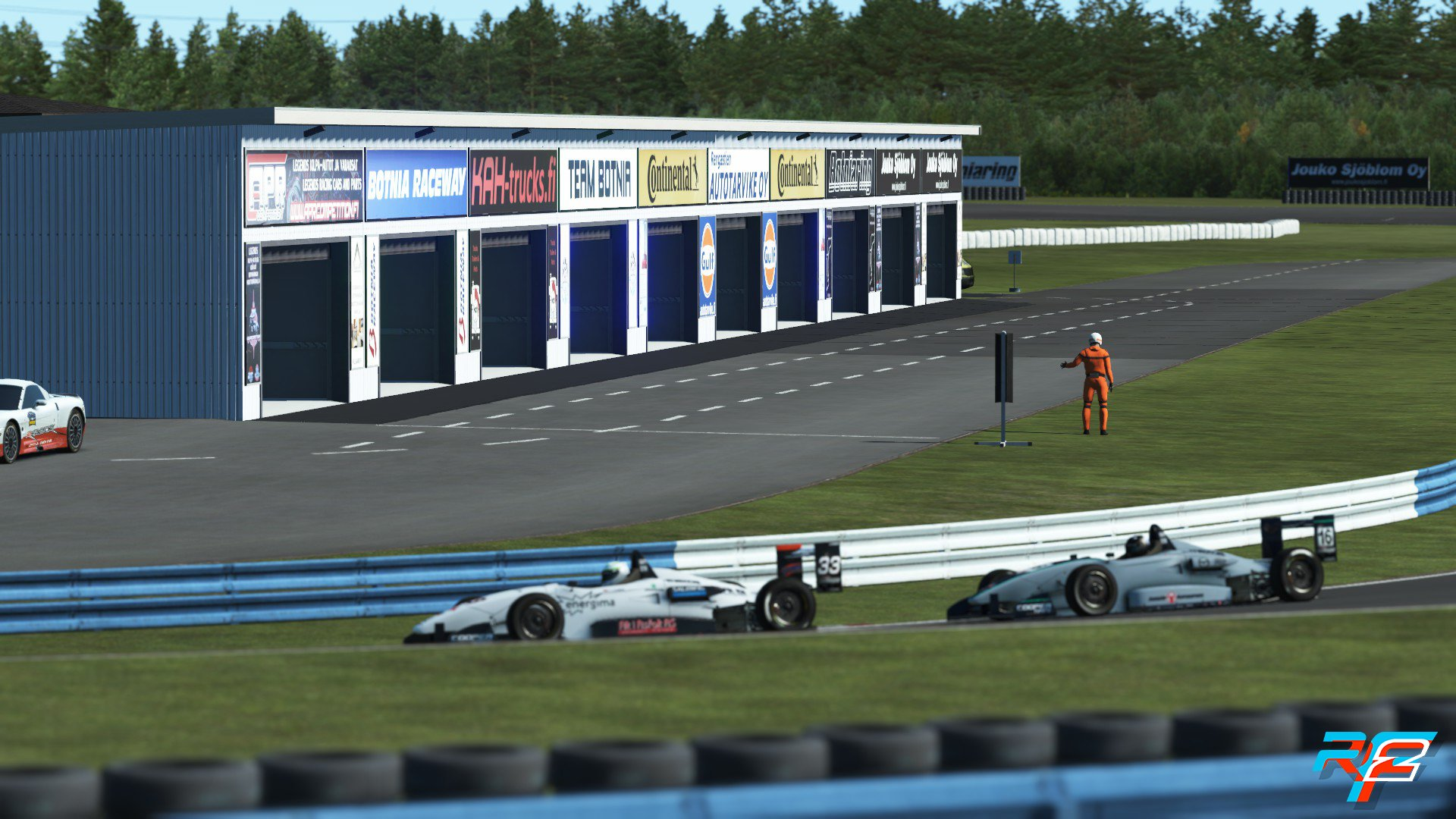 rFactor 2 October Roadmap Update Botniaring 3