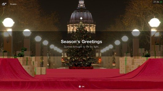 Gran Turismo Sport December Update Christmas Scapes 1