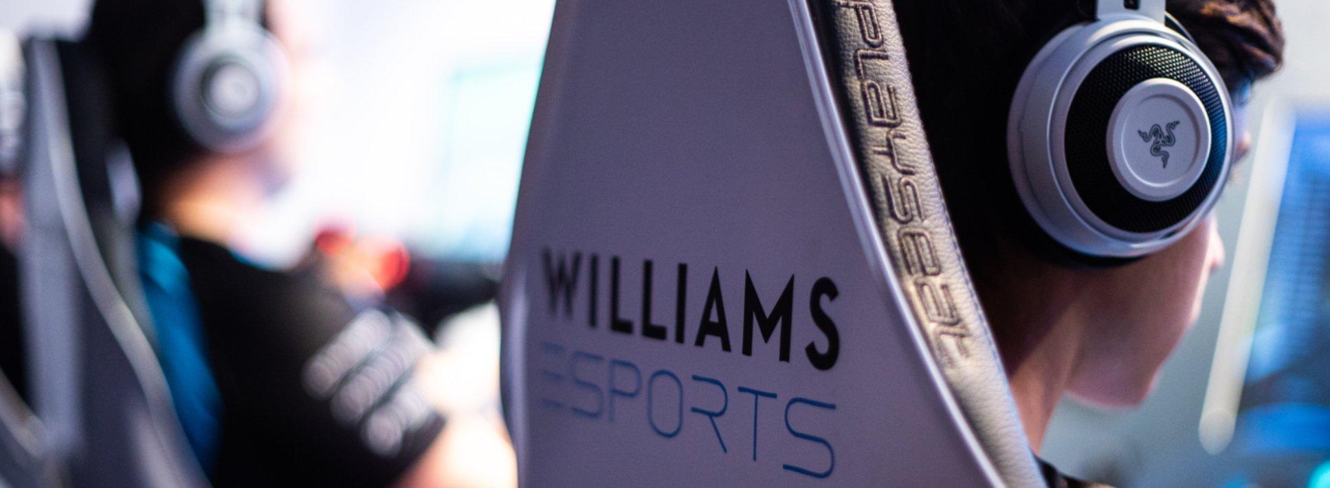 Williams Esports Razer Banner