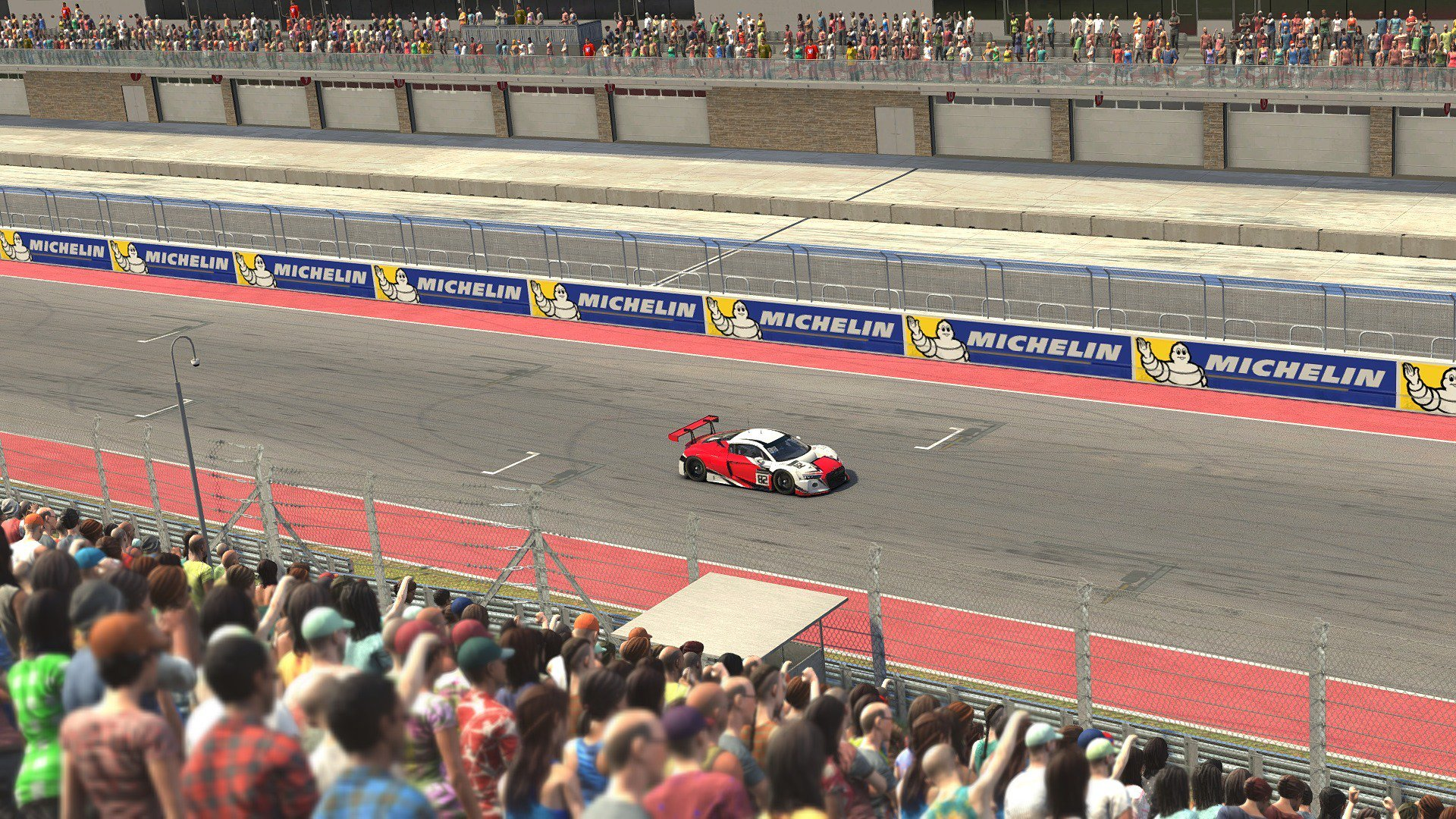 iRacing 2019 Season 1 Crowd