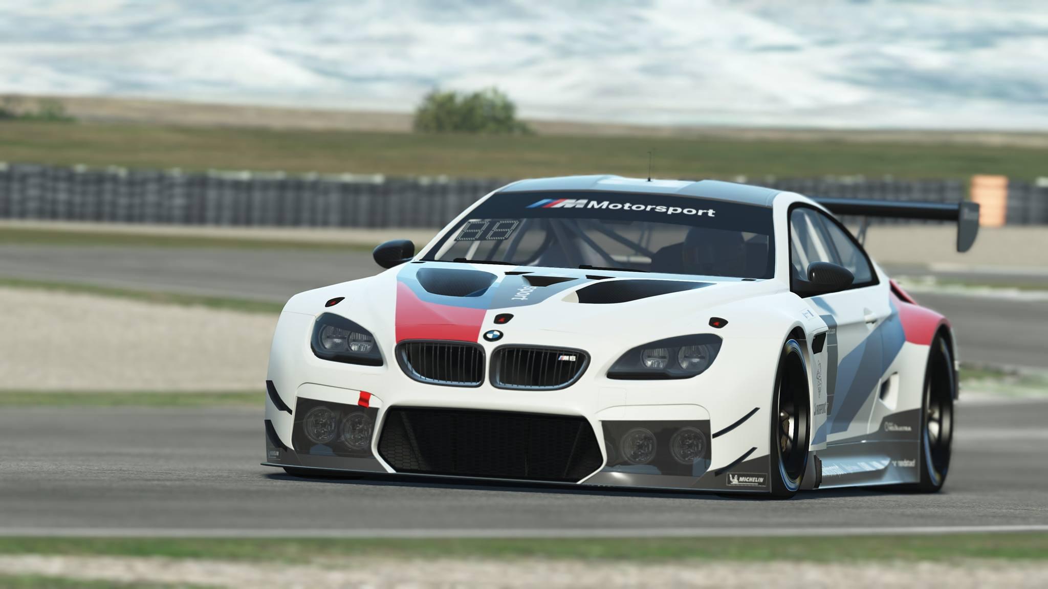 rFactor 2 BMW M6 GT3 Announcement 1