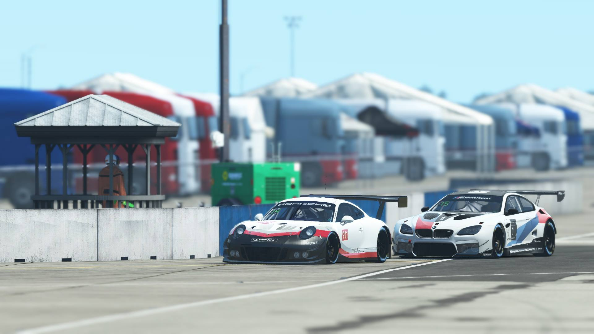rFactor 2 BMW M6 GT3 Announcement 2