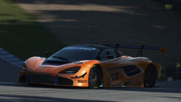 rFactor 2 McLaren 720S GT3 1