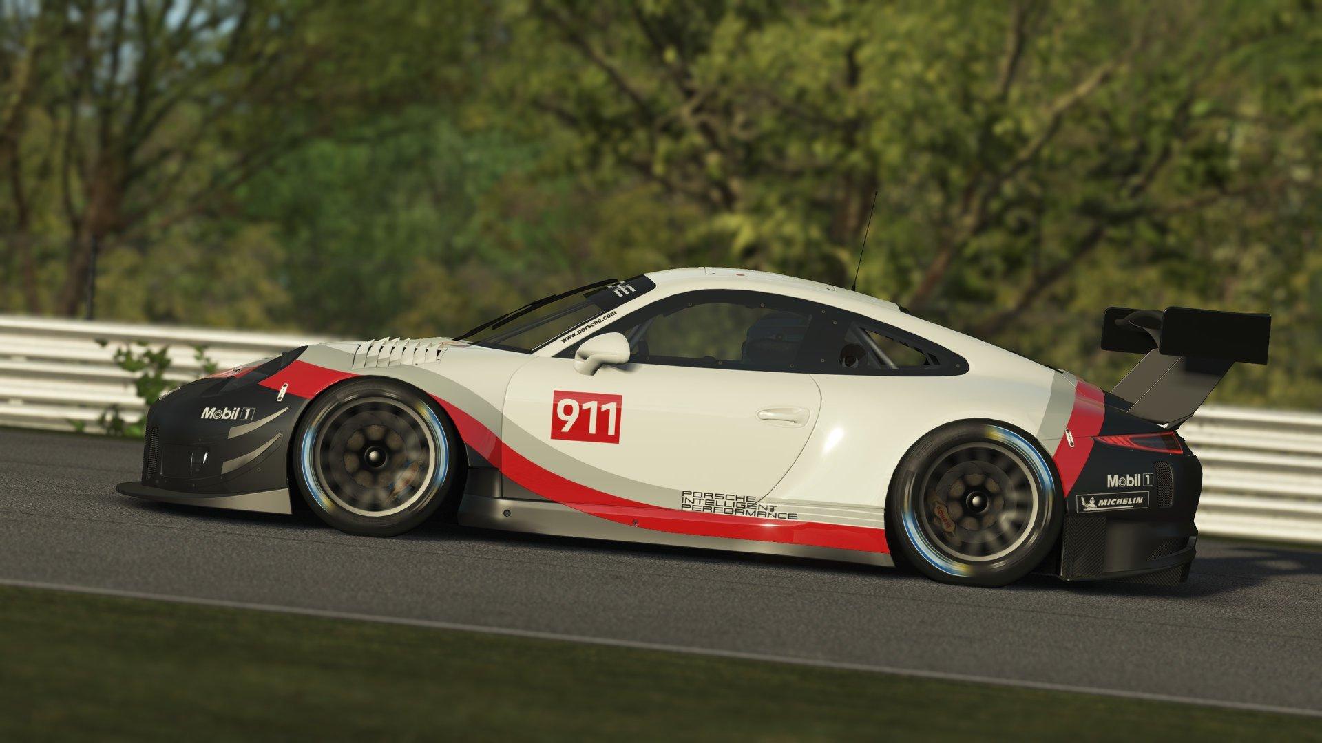 rFactor 2 Porsche 911 GT3 R announcement 1