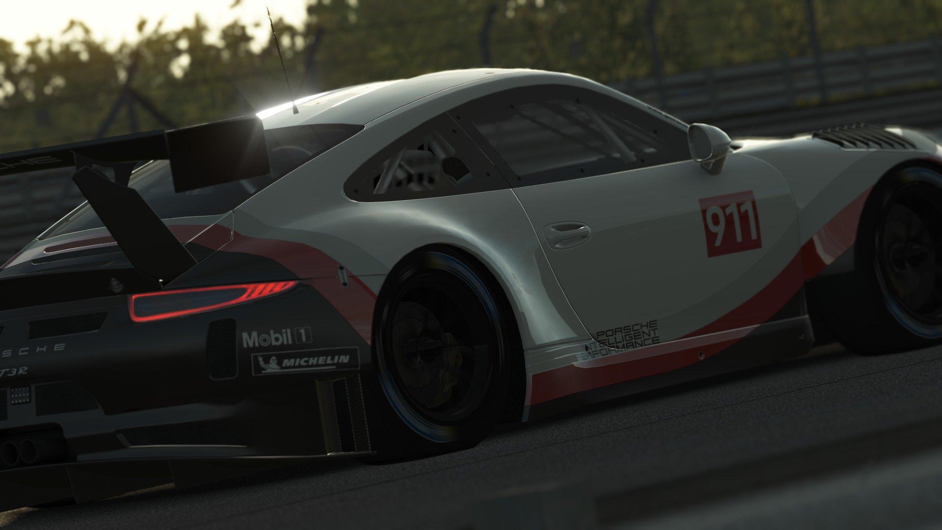 rFactor 2 Porsche 911 GT3 R announcement 2