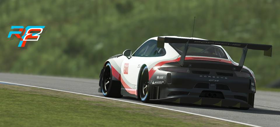 rFactor 2 Porsche 911 GT3 R announcement 5