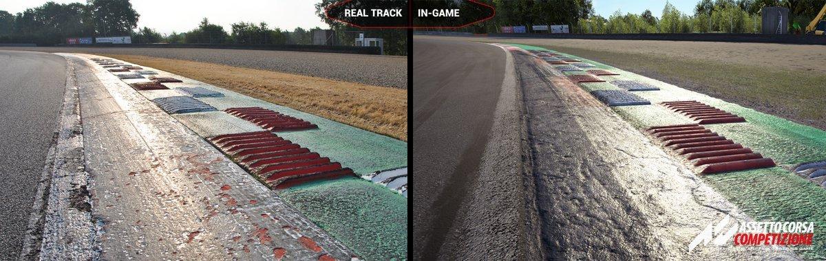 Assetto Corsa Competizione Zolder real vs virtual 3