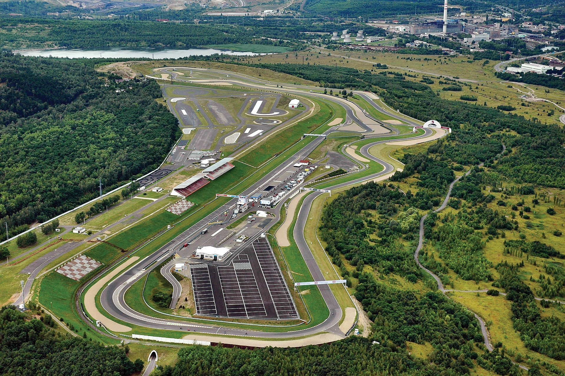 Autodrom Most track shot