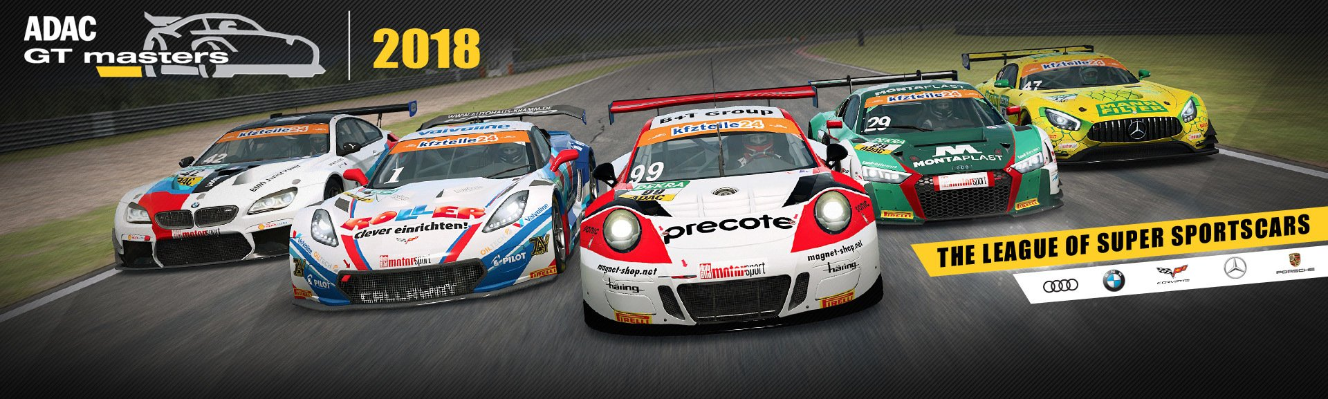 RaceRoom 2018 ADAC GT Masters banner