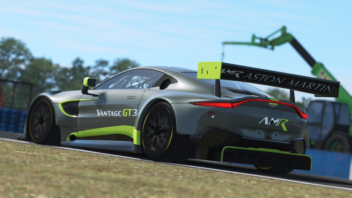 rFactor 2 2019 Aston Martin Vantage GT3 Release 1