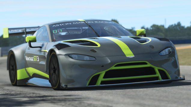 rFactor 2 2019 Aston Martin Vantage GT3 Release 2