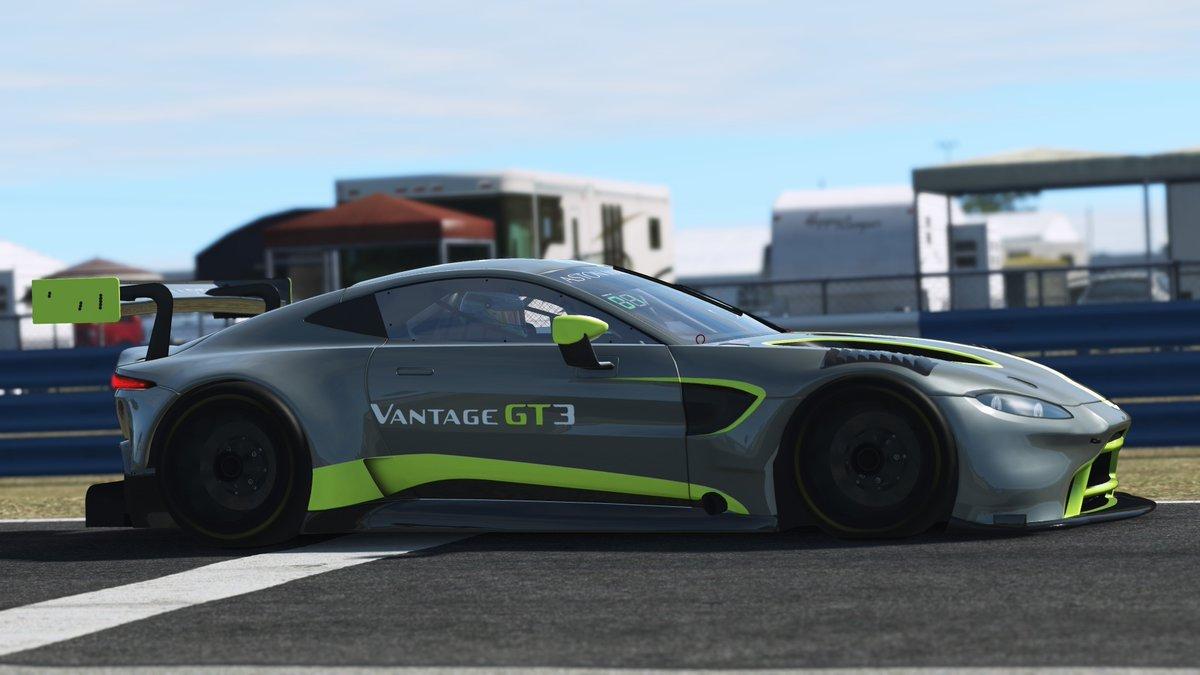 rFactor 2 2019 Aston Martin Vantage GT3 Release 3