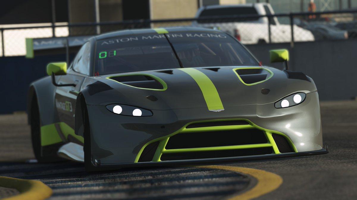 rFactor 2 2019 Aston Martin Vantage GT3 Release 4
