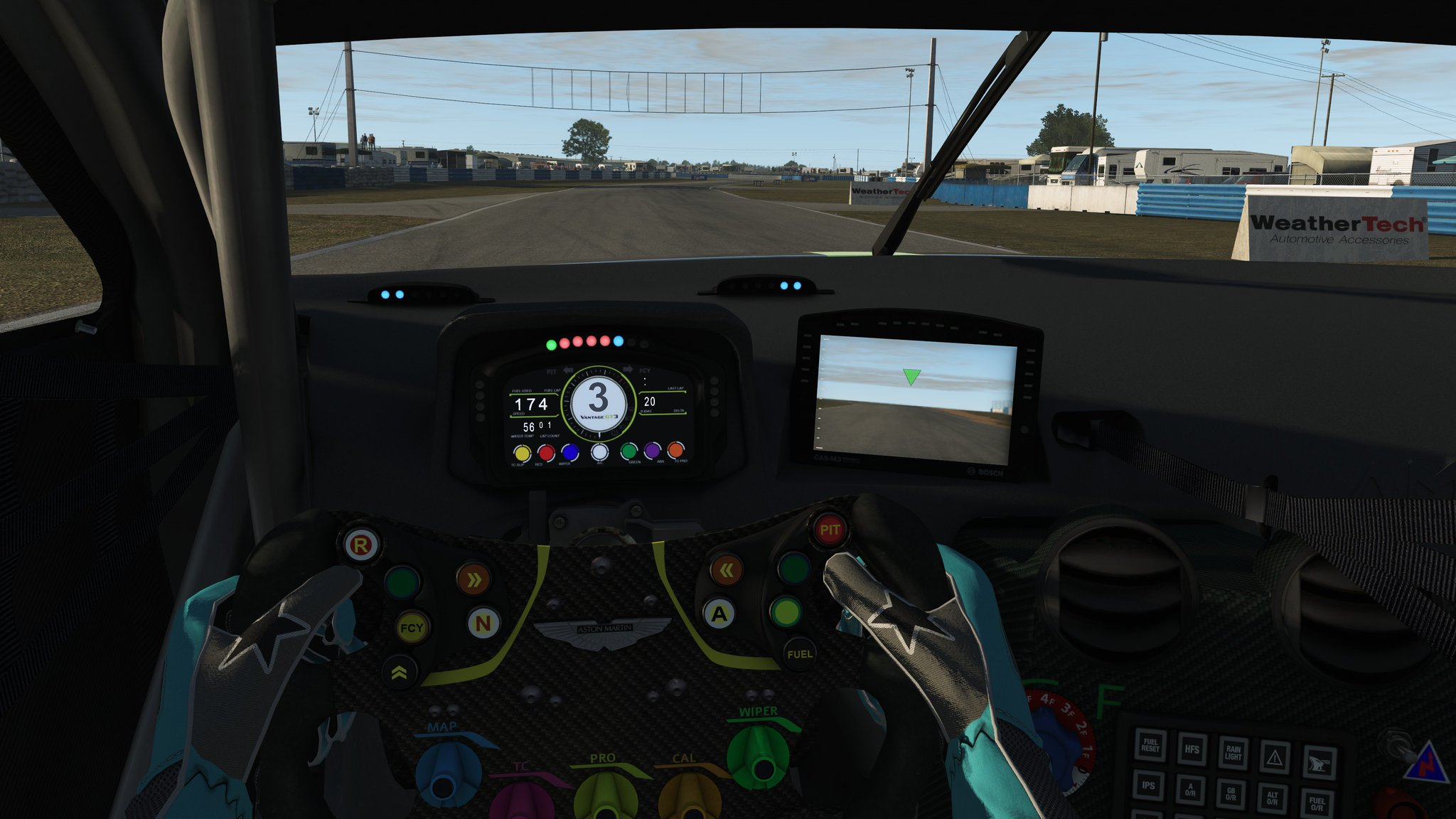rFactor 2 2019 Aston Martin Vantage GT3 Release 5