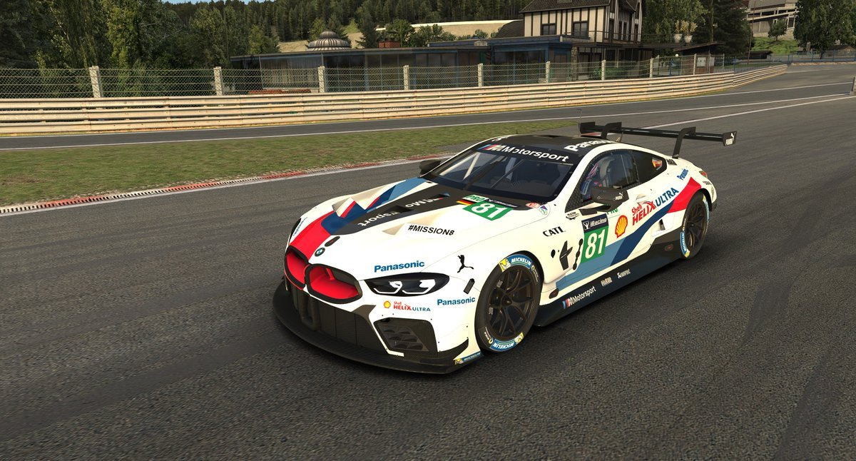 iRacing BMW M8 GTE Preview 3