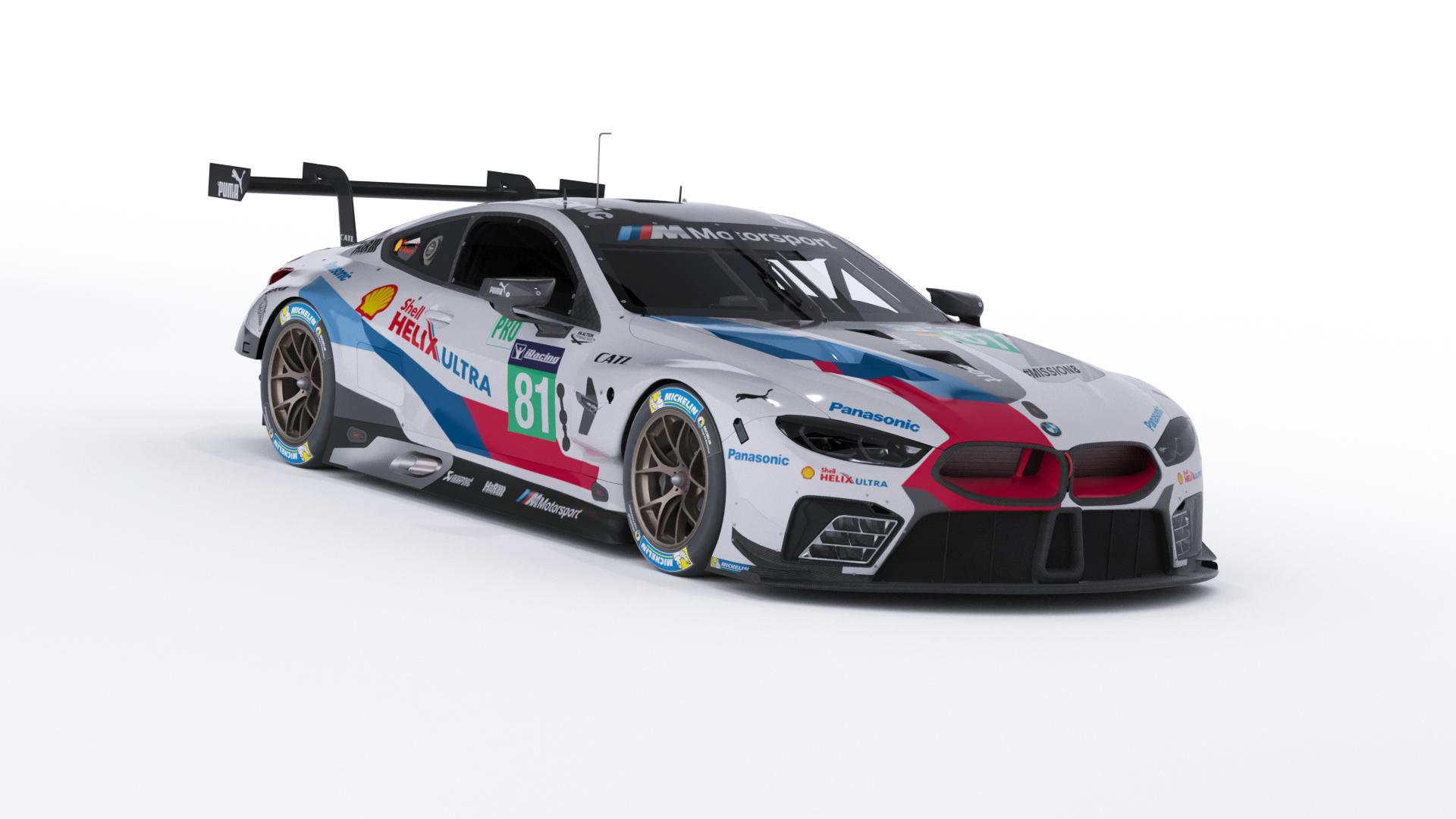 iRacing BMW M8 GTE Preview 5