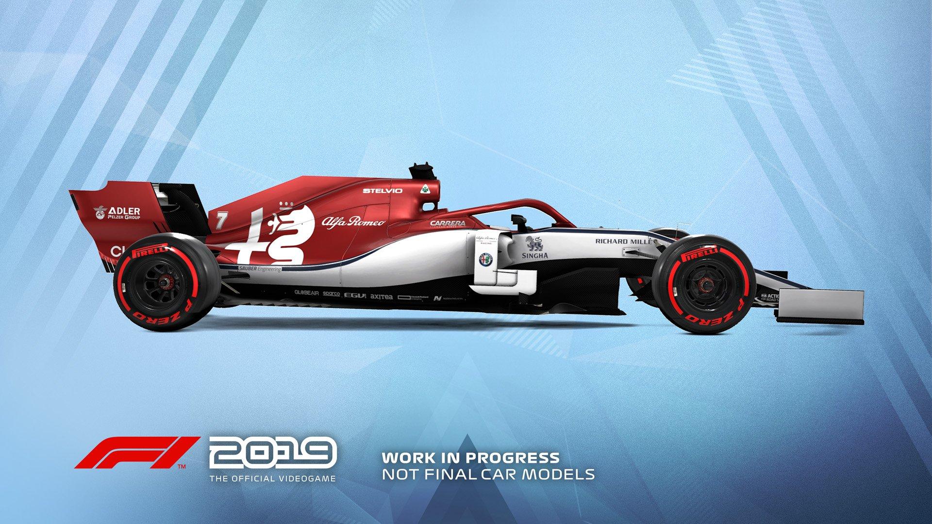 F1 2019 Announcement Alfa Romeo