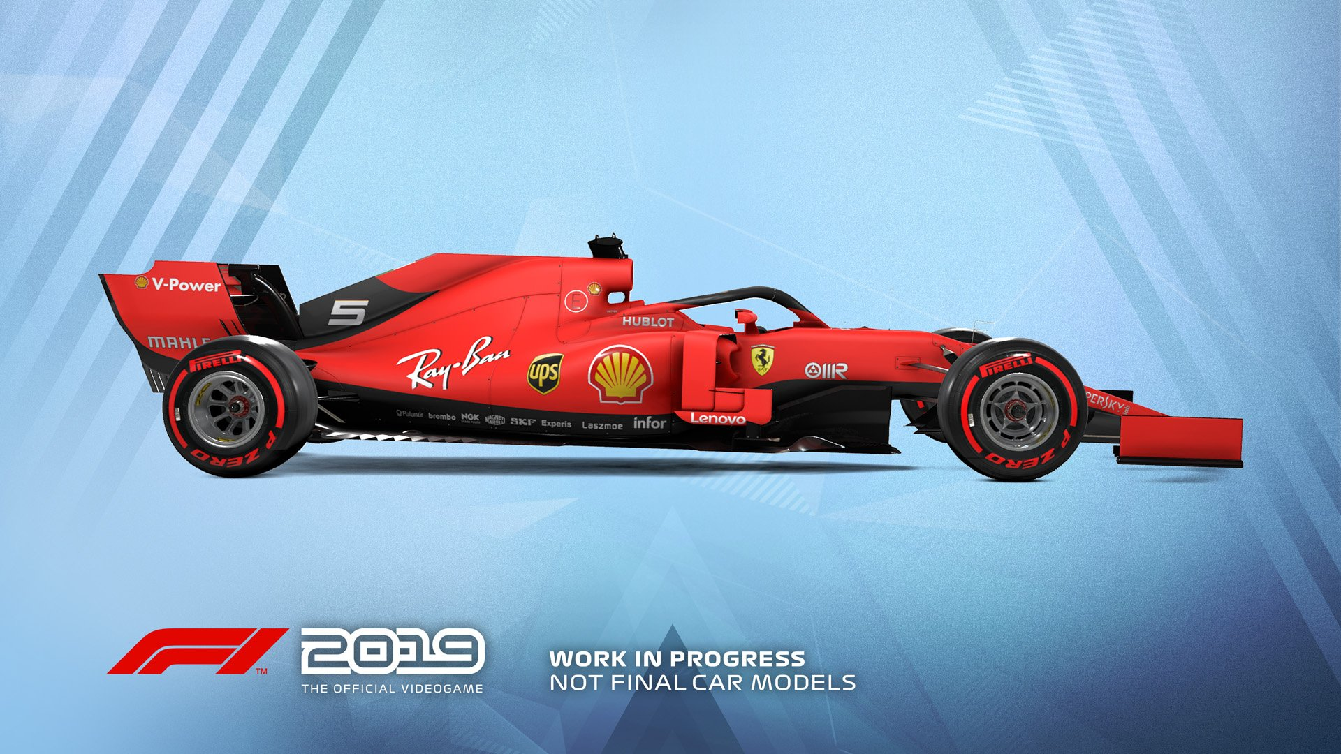 F1 2019 Announcement Ferrari