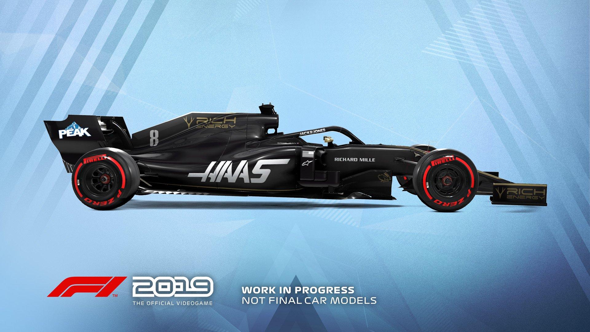 F1 2019 Announcement Haas
