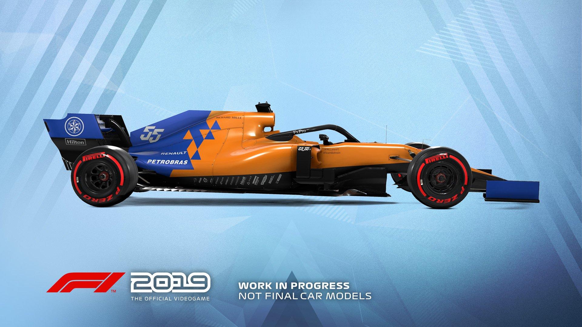 F1 2019 Announcement McLaren