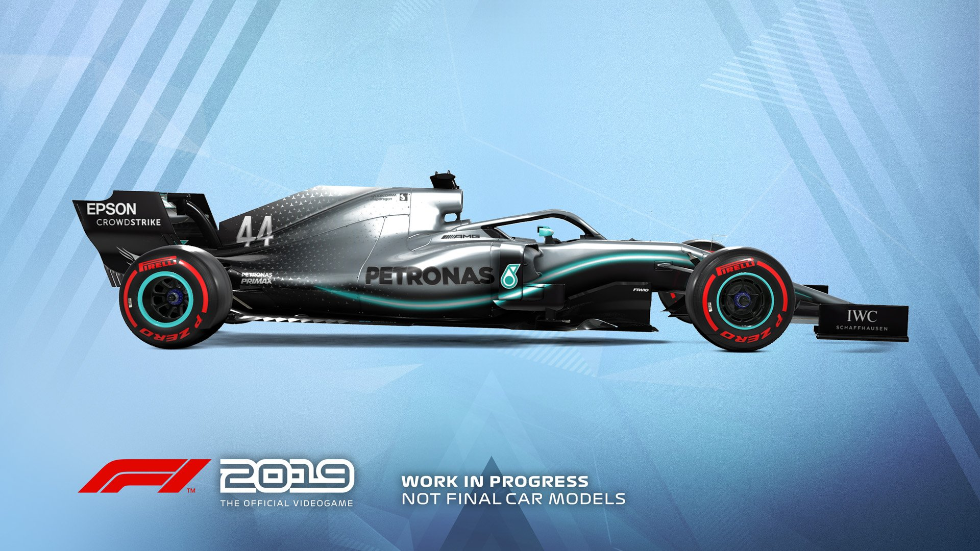 F1 2019 Announcement Mercedes