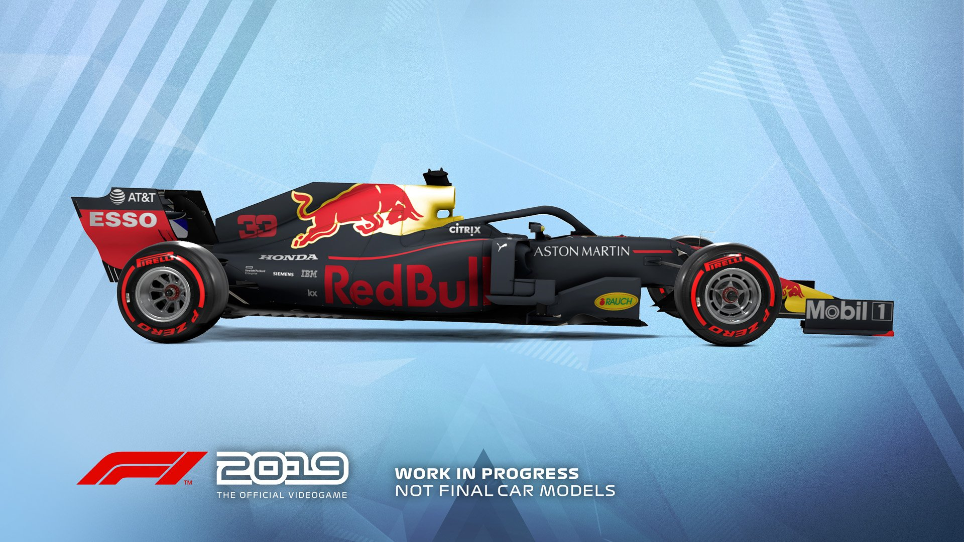 F1 2019 Announcement Red Bull Racing