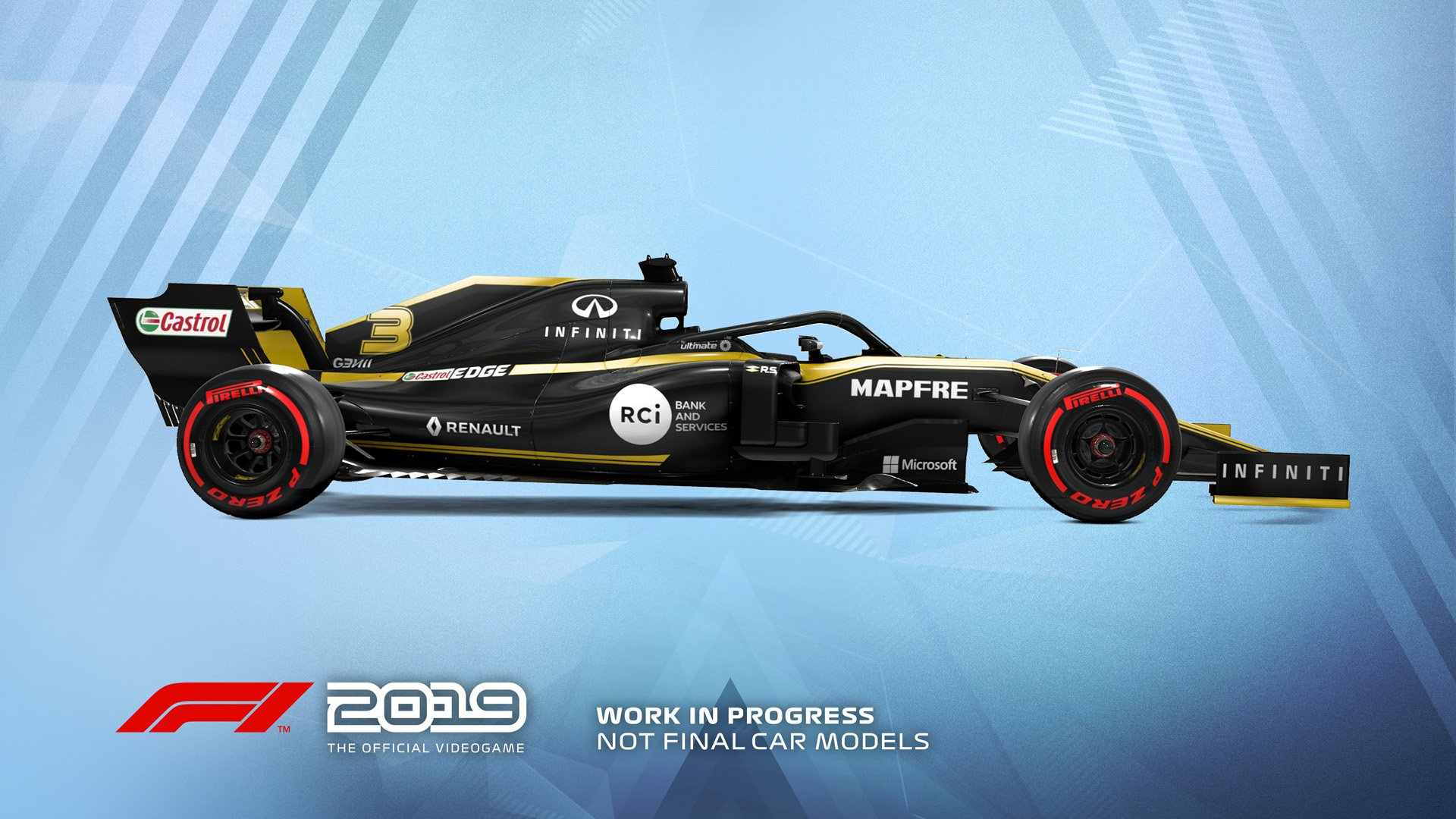 F1 2019 Announcement Renault