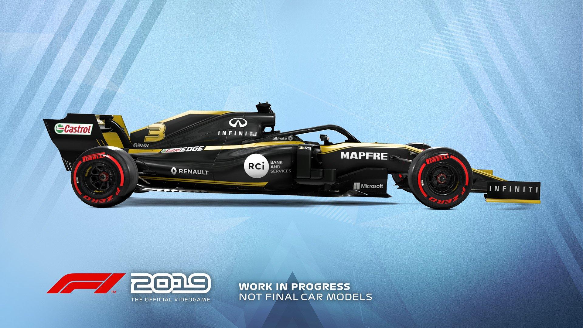 F1 2019 Announcement Renault