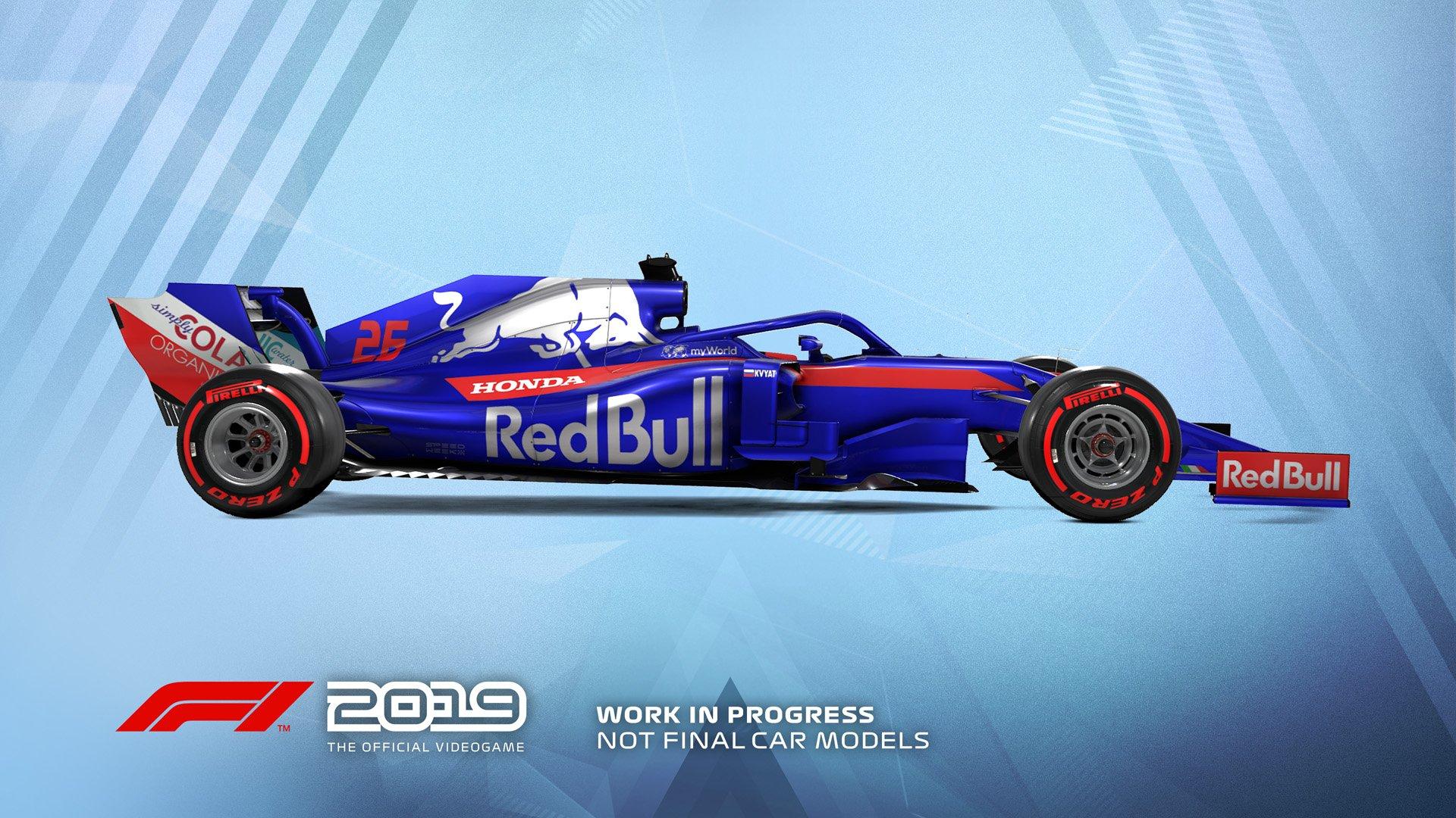 F1 2019 Announcement Toro Rosso