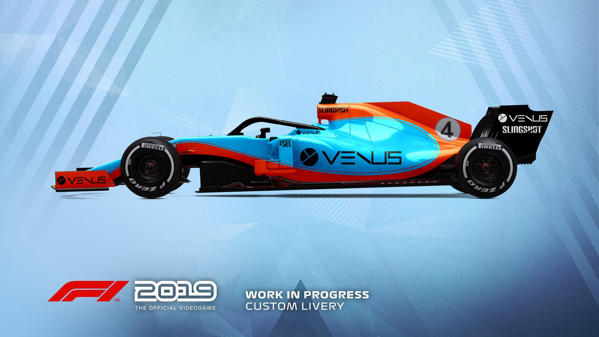 F1 2019 Esports livery 1