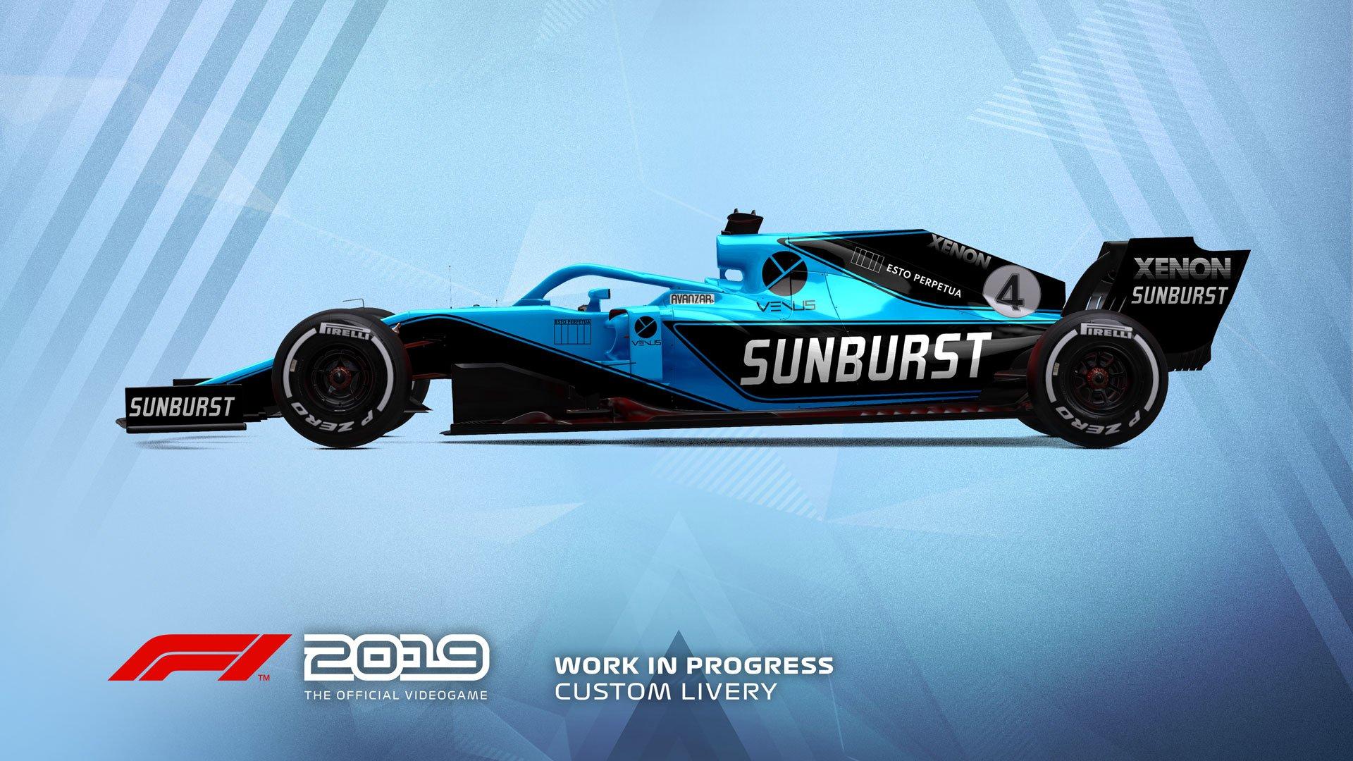 F1 2019 Esports livery 3