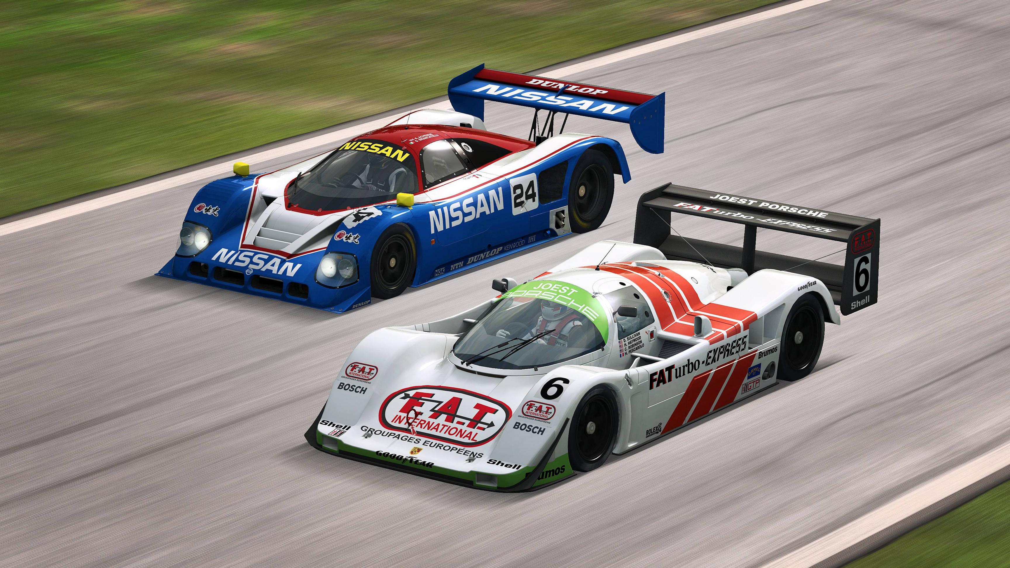RaceRoom Porsche 962 C and Nissan R90CK announcement 1