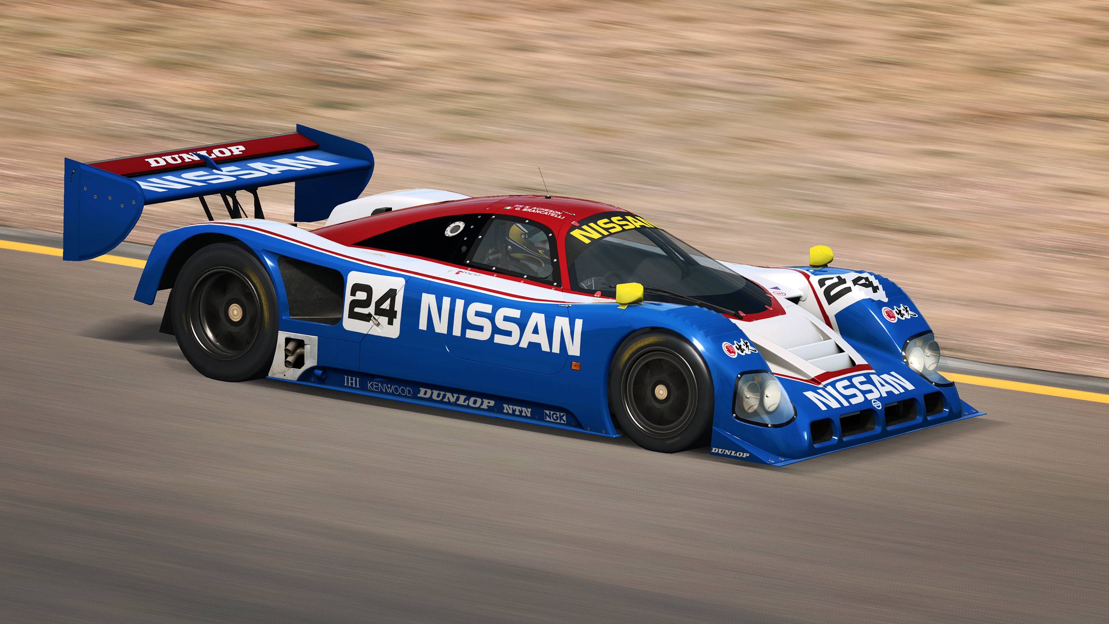 RaceRoom Porsche 962 C and Nissan R90CK announcement 10