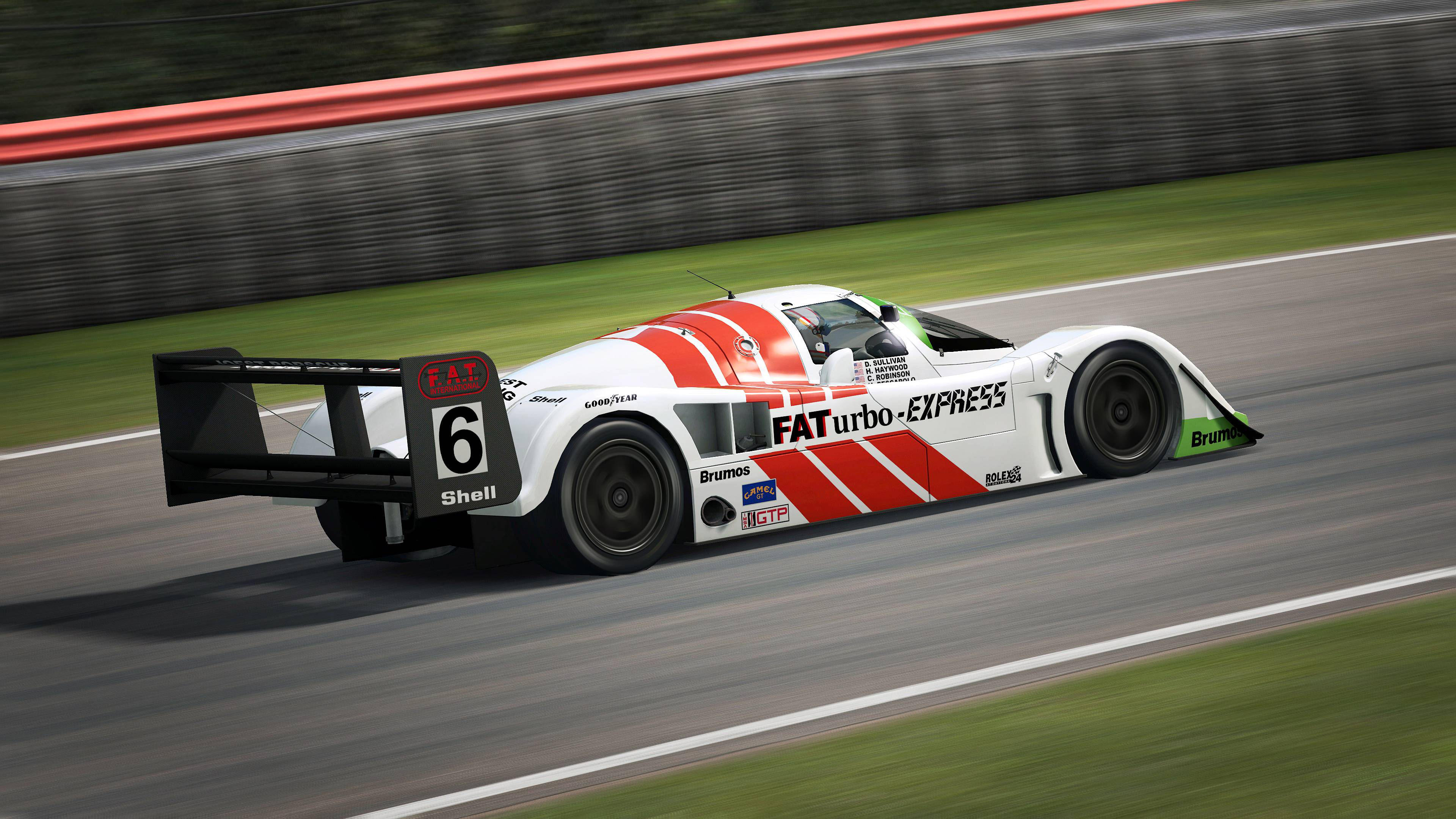 RaceRoom Porsche 962 C and Nissan R90CK announcement 2