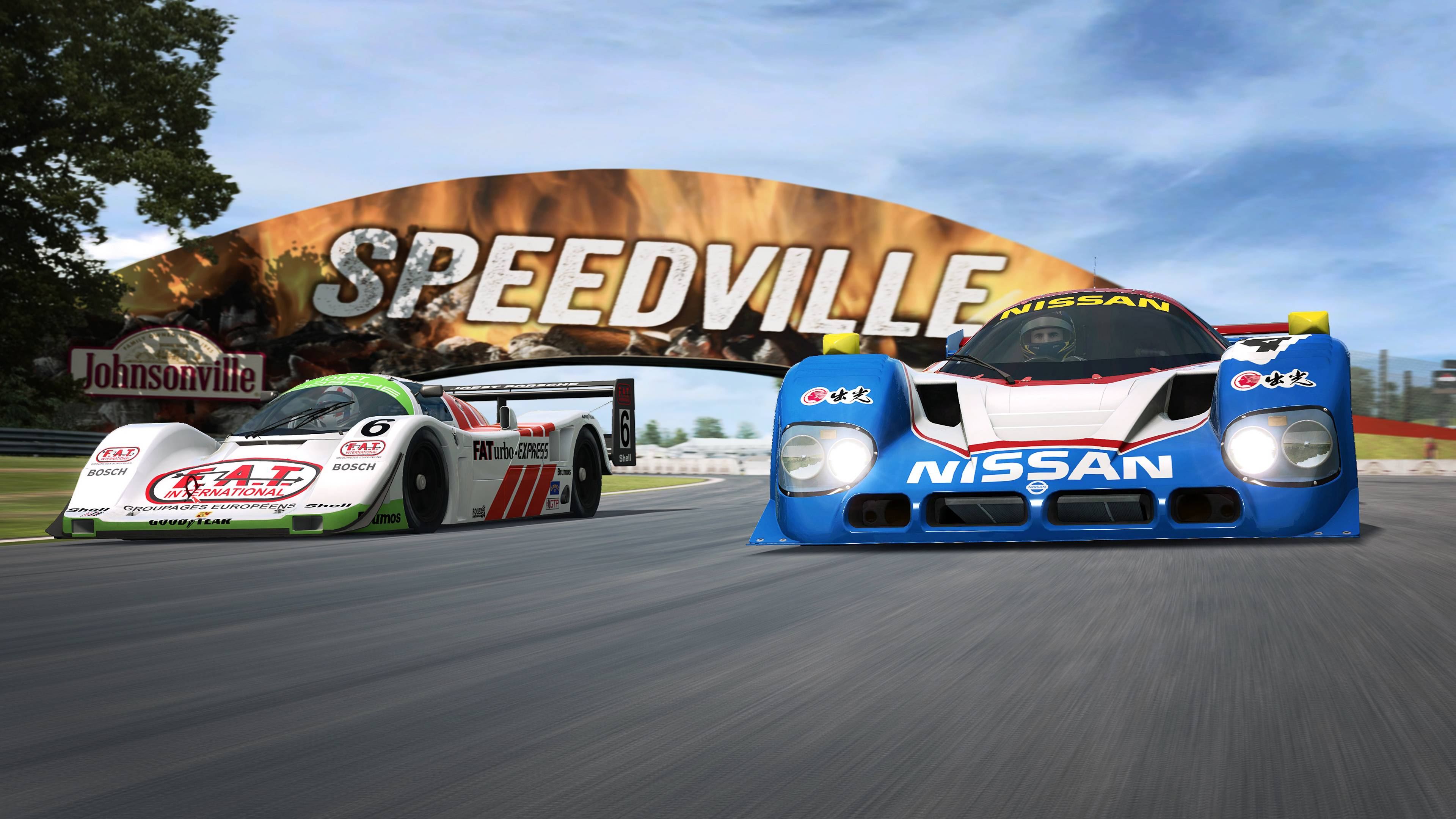 RaceRoom Porsche 962 C and Nissan R90CK announcement 5