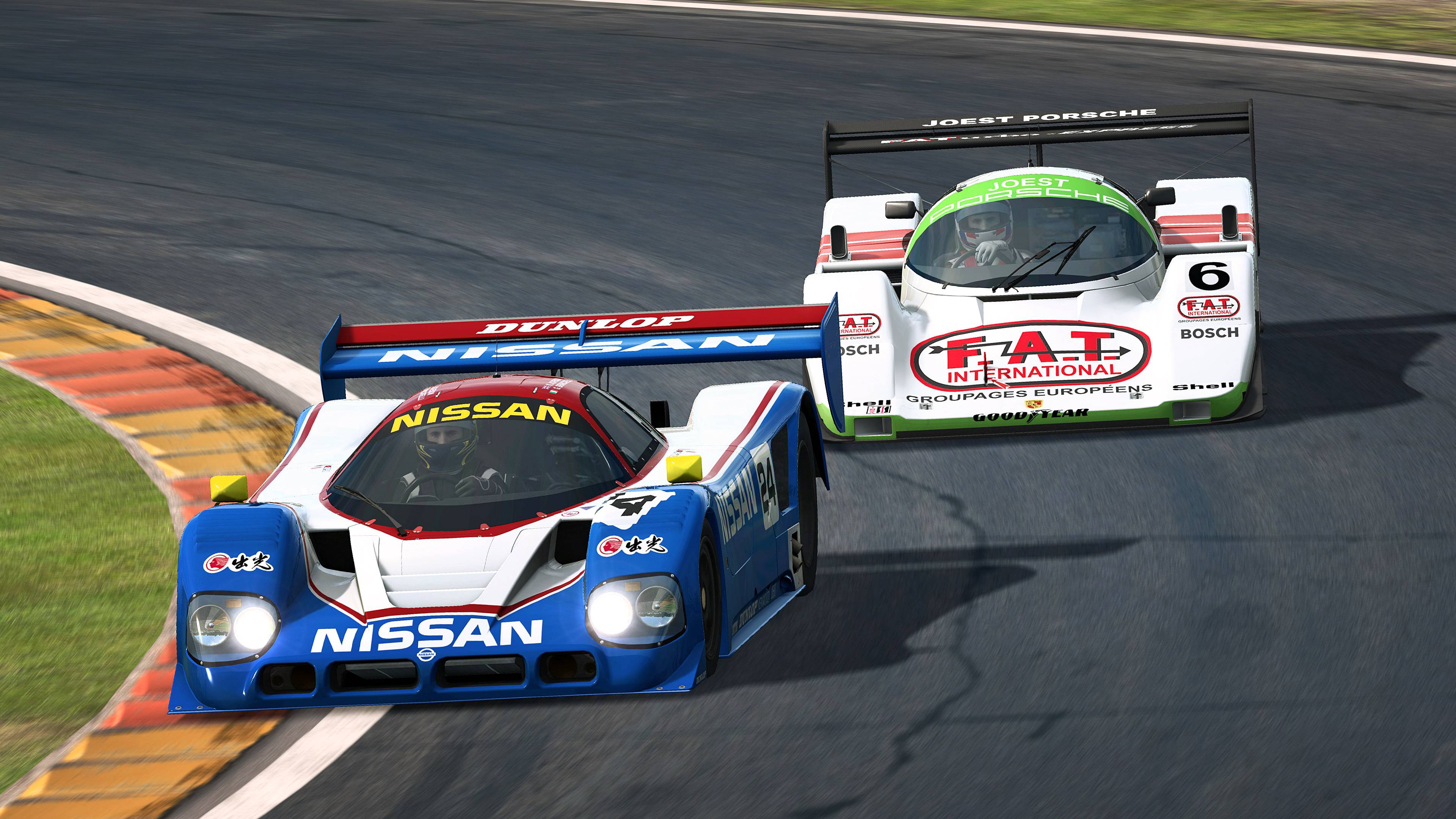 RaceRoom Porsche 962 C and Nissan R90CK announcement 7