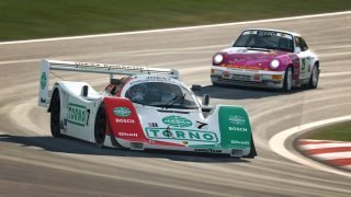 RaceRoom Porsche 962 and 911 964