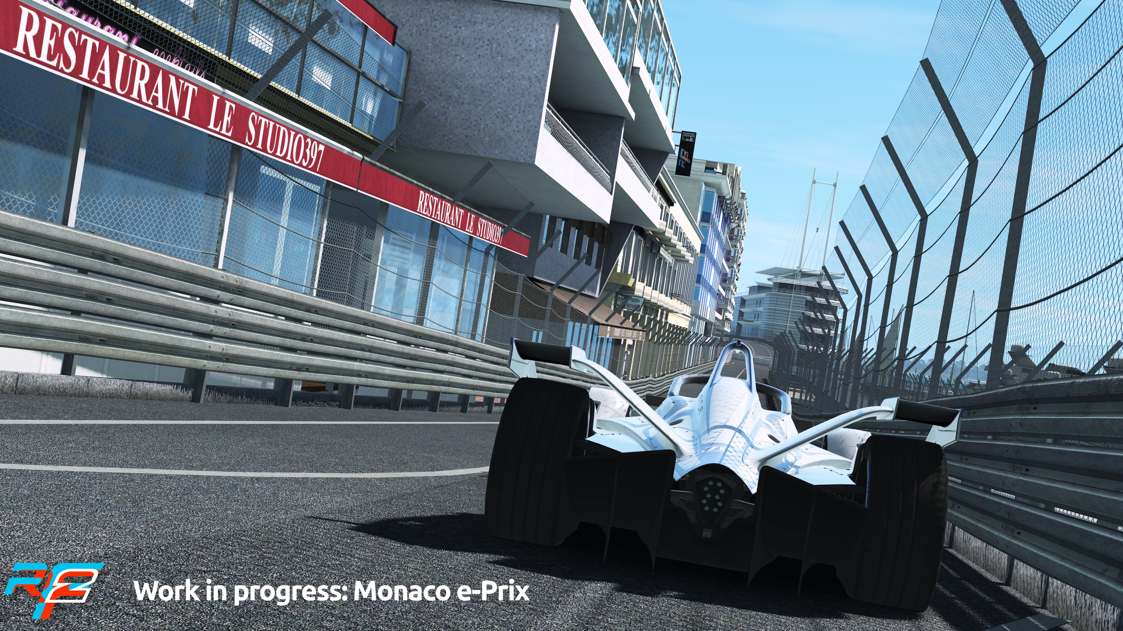 rFactor 2 April Roadmap Update Monaco e-Prix Preview 1