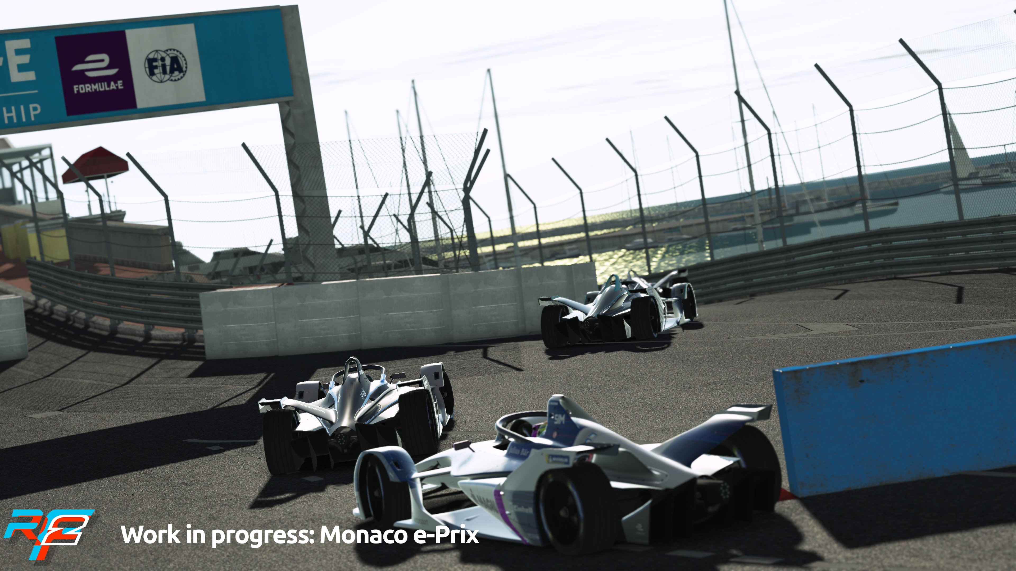 rFactor 2 April Roadmap Update Monaco e-Prix Preview 2