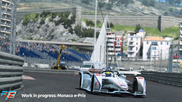 rFactor 2 April Roadmap Update Monaco e-Prix Preview 3