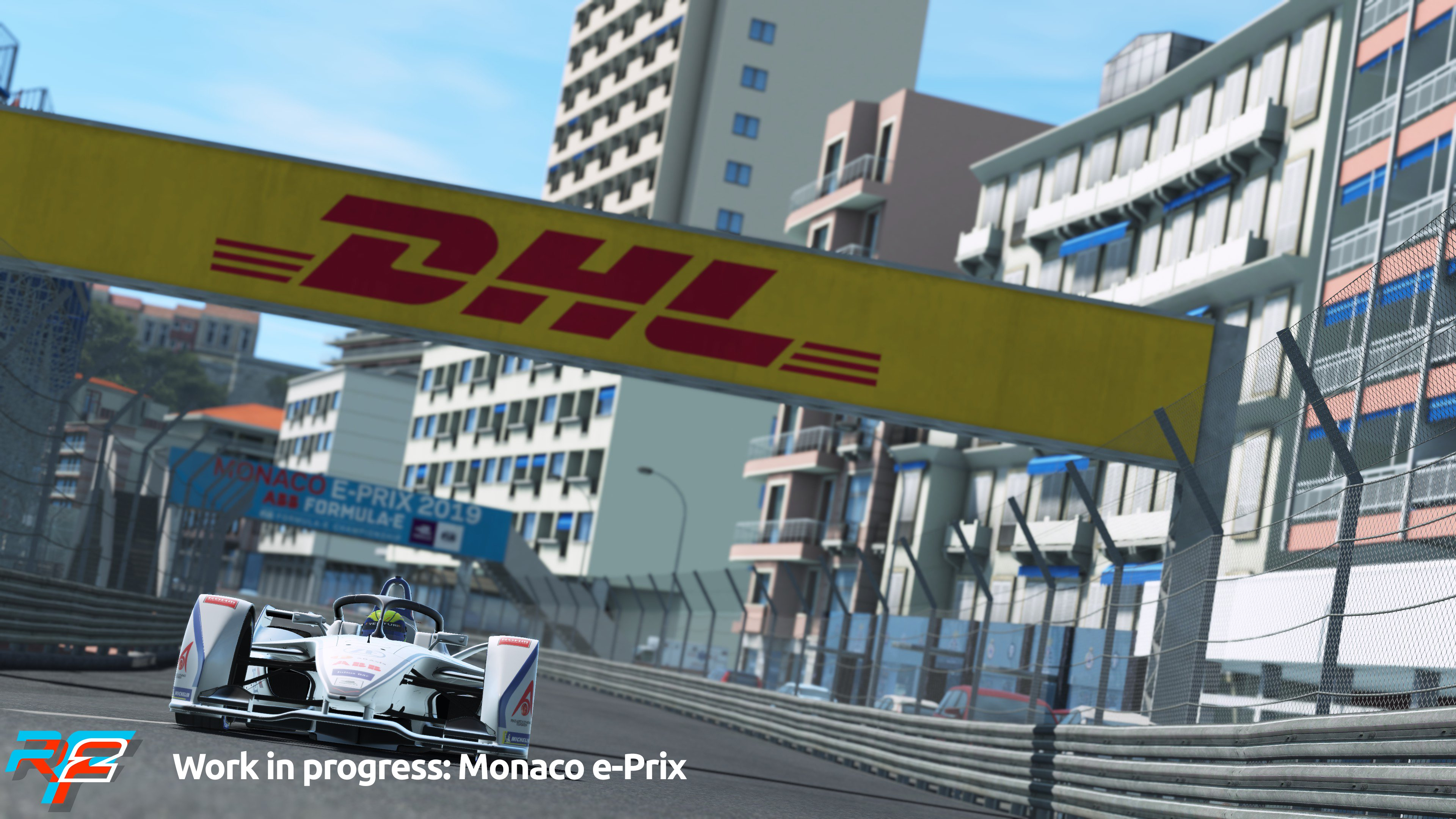 rFactor 2 April Roadmap Update Monaco e-Prix Preview 4