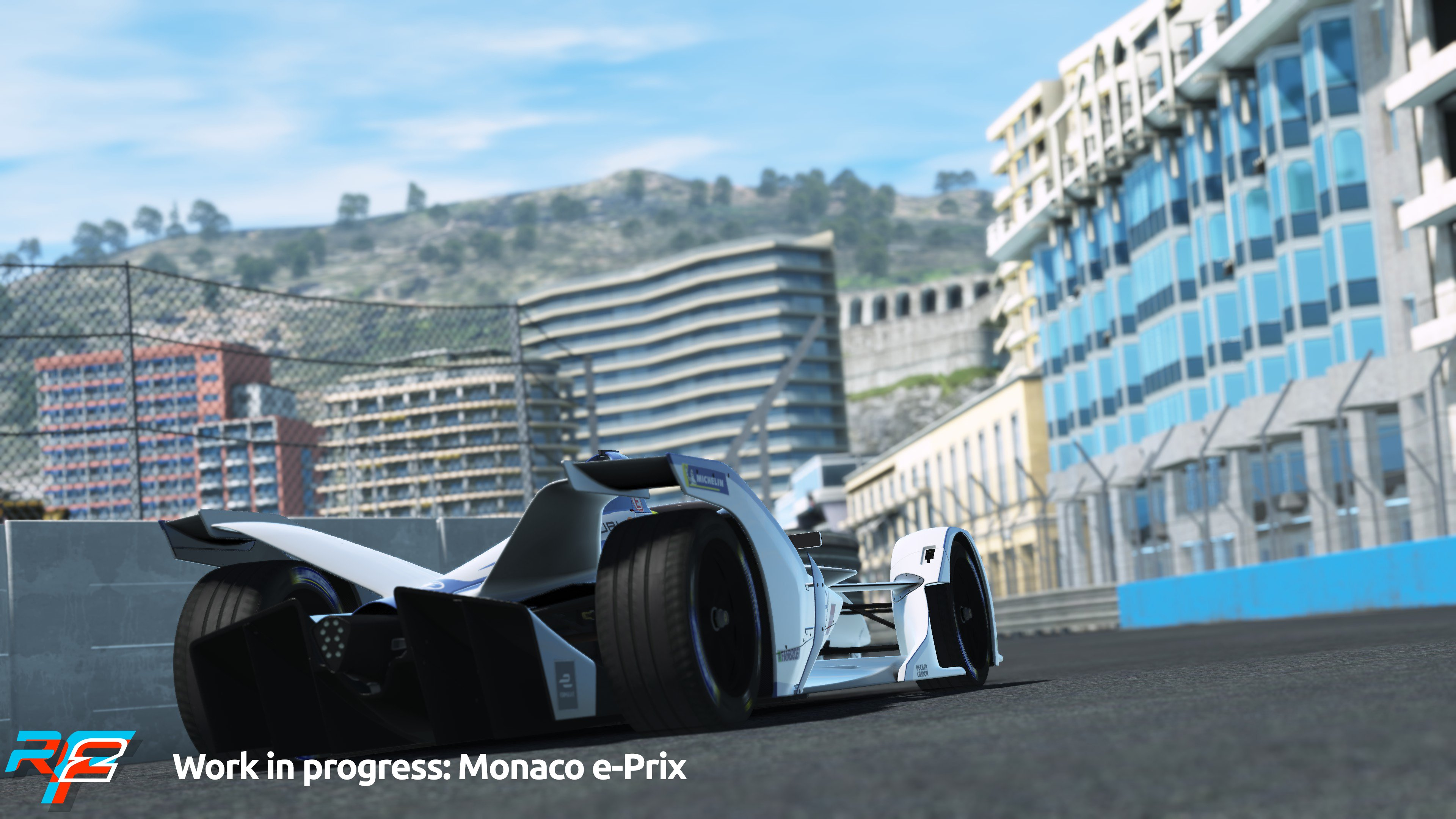 rFactor 2 April Roadmap Update Monaco e-Prix Preview 5