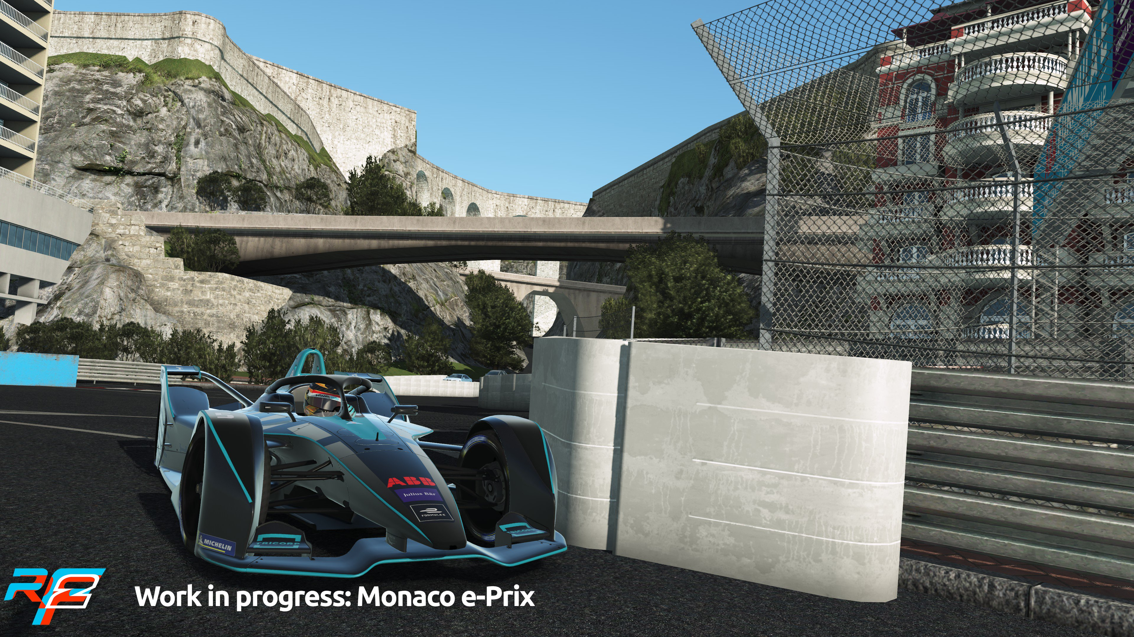 rFactor 2 April Roadmap Update Monaco e-Prix Preview 6