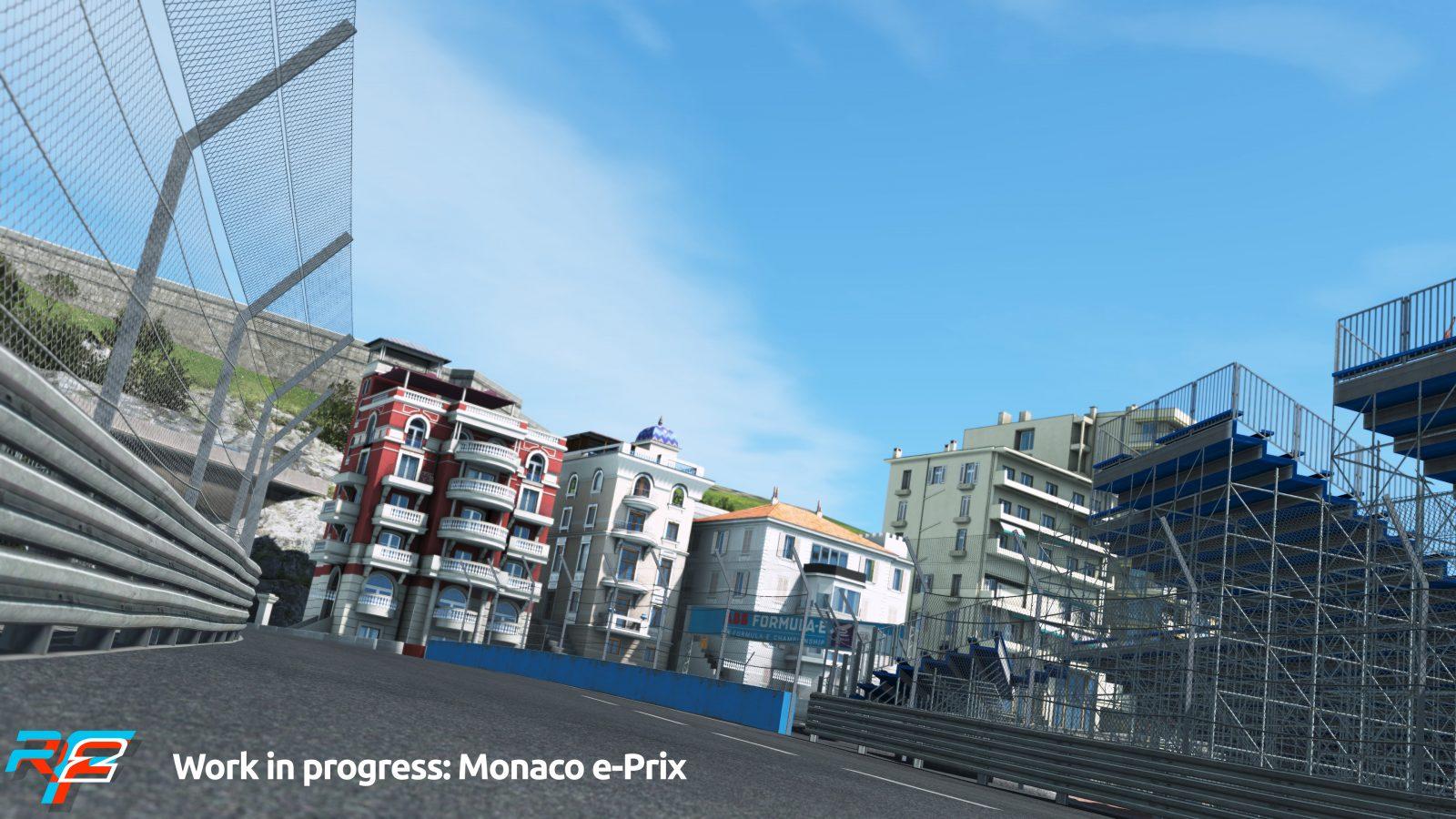 rFactor 2 April Roadmap Update Monaco e-Prix Preview 7