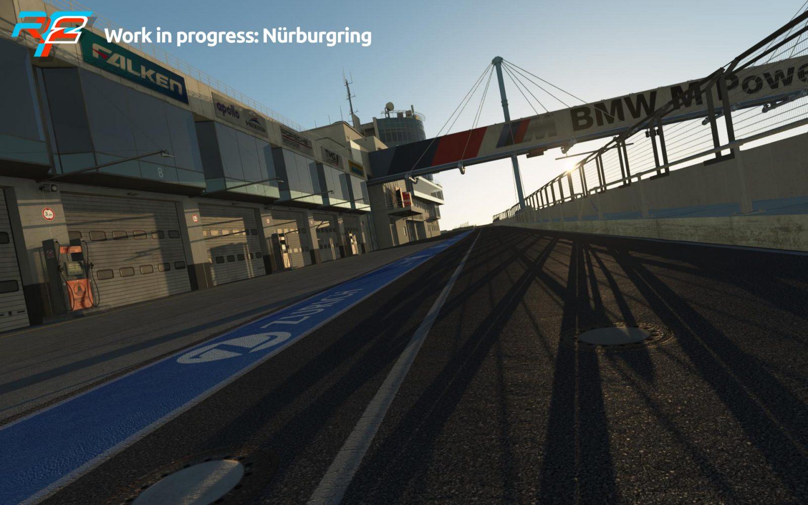 rFactor 2 April Roadmap Update Nurburgring Preview 2